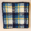 Front of Ania's tartan