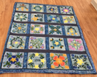 Quilt rug by Sharon Clarke