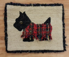 Scottie Dog by Jeannie Crockett creating plaid